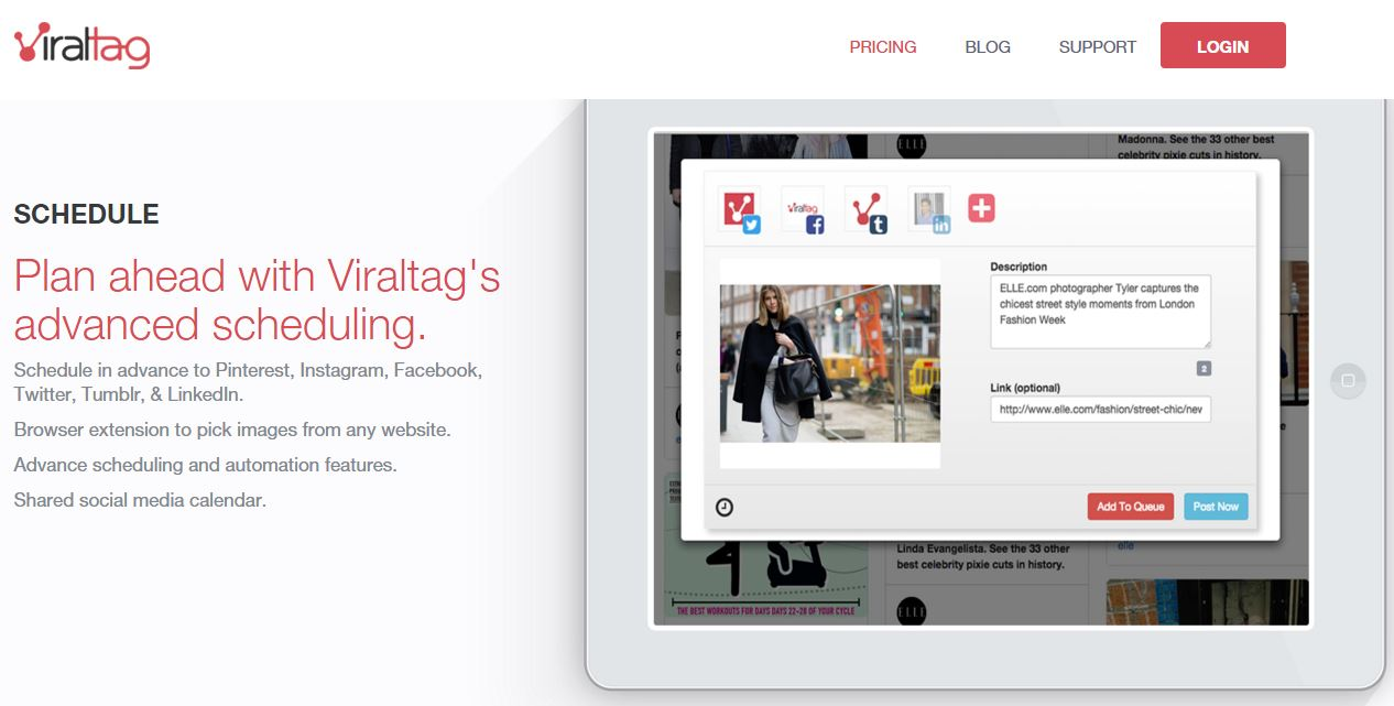 ViralTag Screenshot.